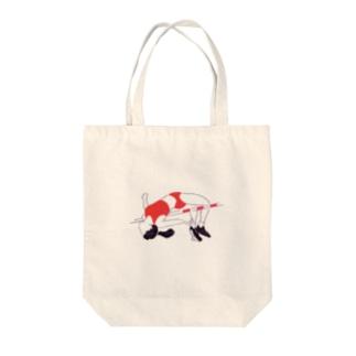 高飛び女子 Tote bags