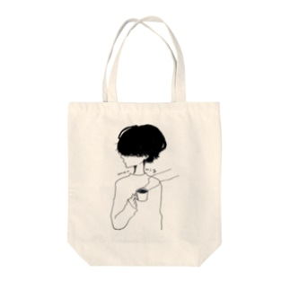 morning男子 Tote bags