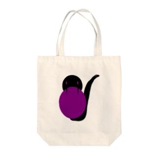蛇【エクセルアート】 Tote bags