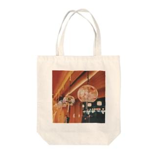 祇園の夜 風鈴 Tote bags