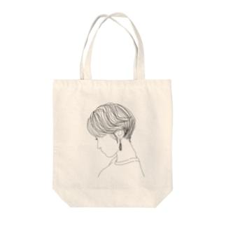 オトナ女子 Tote bags