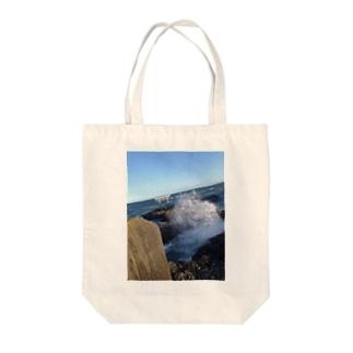 ARANAMI~大海~ Tote bags