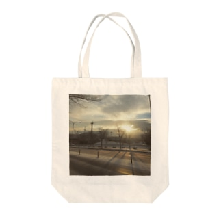 First Sunrise! Tote bags
