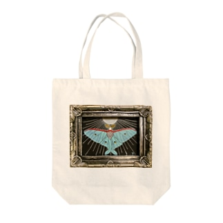 月の蛾 Tote bags