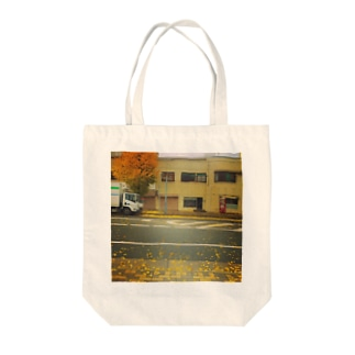 An incline  Tote bags