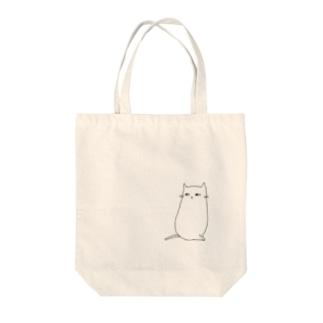 まちかどねこ(たて) Tote bags