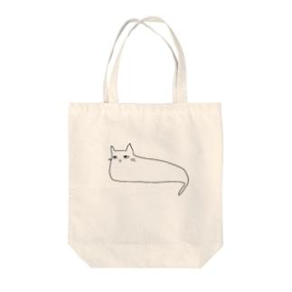 まちかどねこ(よこ) Tote bags