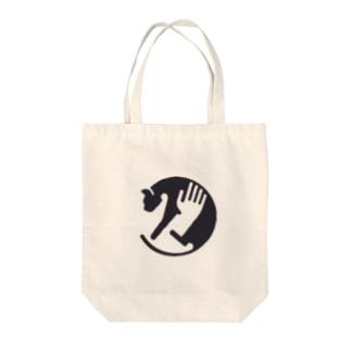 CAT-CATCH Tote bags