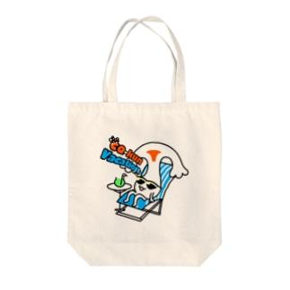 CQ-kun<vacation> Tote bags