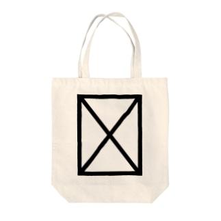 notdef -豆腐グリフ- Tote bags