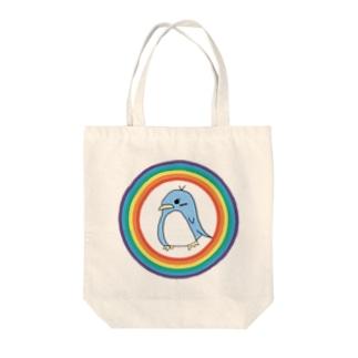 ペンギンのぺん Tote bags
