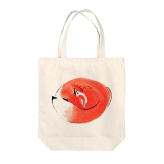 ねむりきつね Tote bags