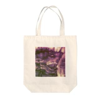 戦艦サメ獣人 Tote bags