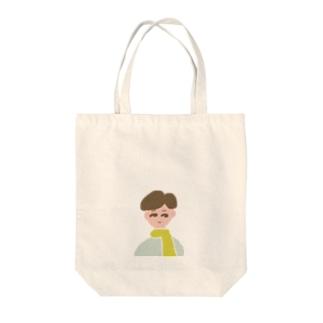 ボーイ① Tote bags