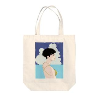 夏の女は獣 Tote bags