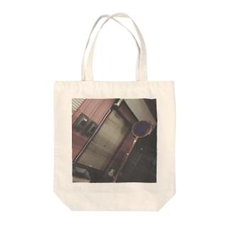 古びた街 Tote bags