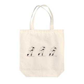 野球部とんぼがけ2 Tote bags