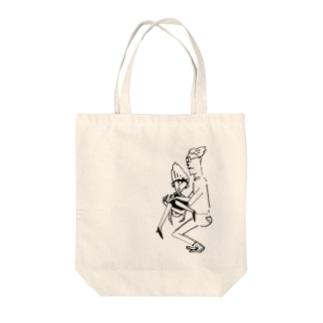 キャッチ Tote bags