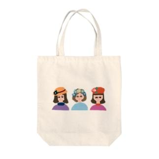 ハナ・オンナ① Tote bags