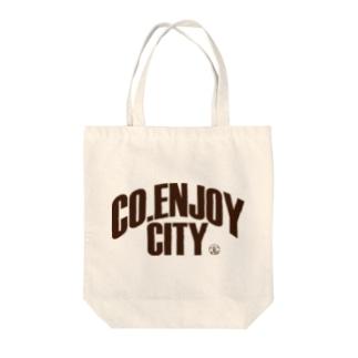 CO.ENJOY CITY(高円寺シティ) Tote bags