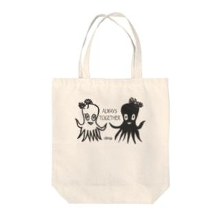 タコスタンプ Tote bags