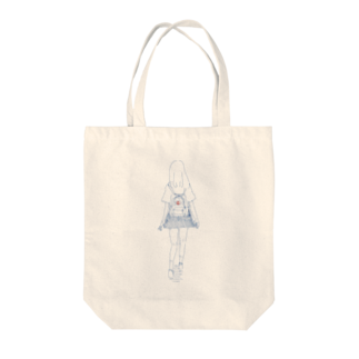 msw のおんなのこ Tote bags