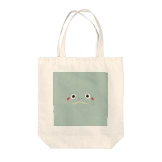 カメサン Tote bags