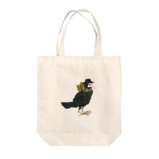 ペストカラス Tote bags