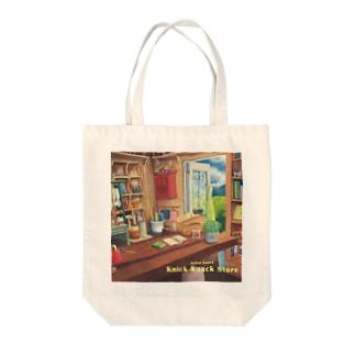 knick-knack store's bag  Tote bags