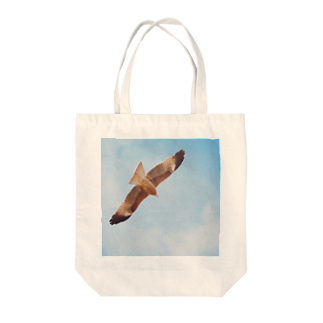 nyahoのとんび Tote bags