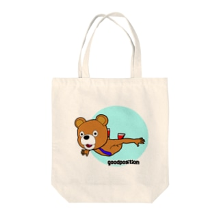 フライング クマ Tote bags