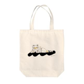アンニュイガール Tote bags