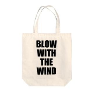 自由な風に吹かれて! -Type.1.1- Tote bags