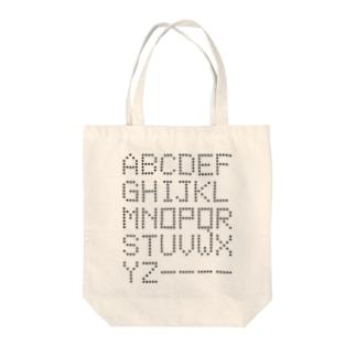 ALPHABET -Type.2.1- Tote bags