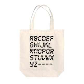 ALPHABET -Type.3.1- Tote bags