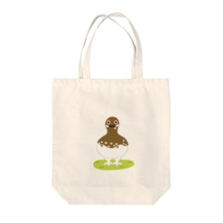 雷鳥さん Tote bags