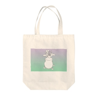 temporary vases Tote bags