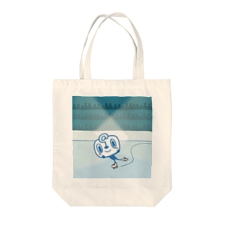 フィギュアパルオ Tote bags