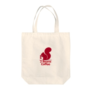 2 Beans Coffee Tote bags
