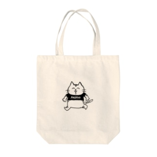 ぱおねこ Tote bags