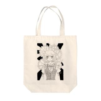 東方project十六夜咲夜 Tote bags