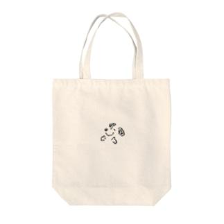 スヌ Tote bags