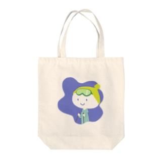 すきスキー Tote bags
