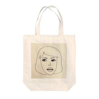 レコガール Tote bags