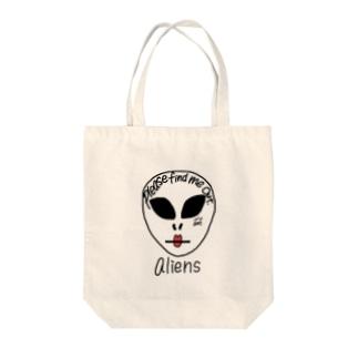 alien Tote bags