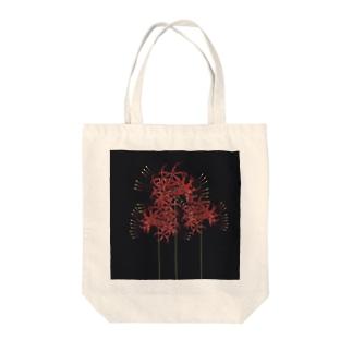 higanbana Tote bags