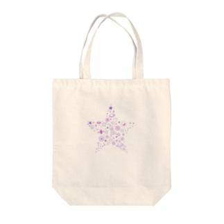 星型宇宙 Tote bags