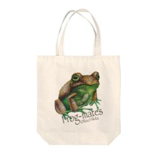 引田玲雄 / Reo Hikitaのカエルメイト(Frog-mates)より「キウイガエル」 Tote bags