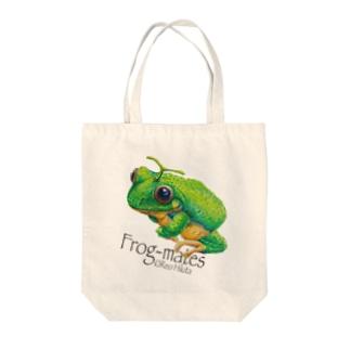 カエルメイト(Frog-mates)より「メロッグ」 Tote bags