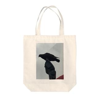 クロハトの願い Tote bags
